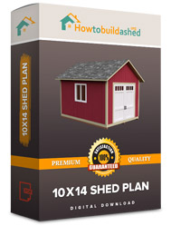 10x14 shed plan