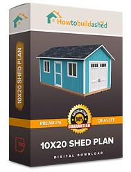 10x20 shed plan