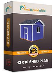 12x10 shed plan
