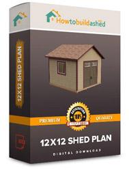 12x12 shed plan