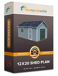 12x20 shed plan