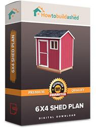 6x4 shed plan