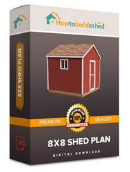 8x8 shed plan
