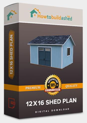 download 12x16 shed plan