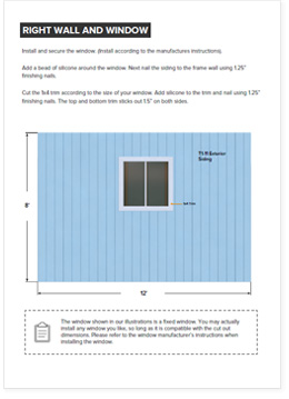 12x16 shed plan step by step