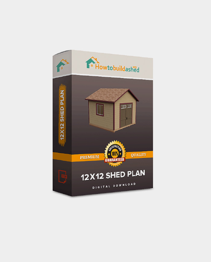 12X12 Gable Storage Shed Plan  sc 1 st  How to Build a Shed & 30 Free Storage Shed Plans With Gable Lean-to and Hip Roof Styles