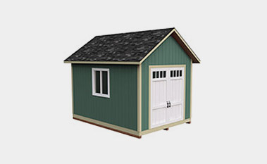30 Free Storage Shed Plans With Gable, Lean-to and Hip Roof Styles