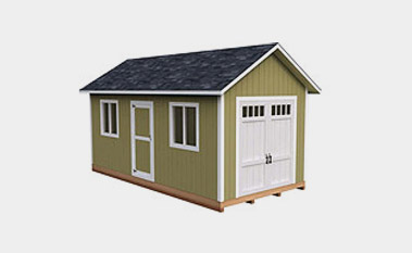 30 free storage shed plans with gable lean to and hip for 12x18 shed window