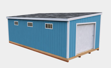 30 Free Storage Shed Plans With Gable Lean To And Hip Roof