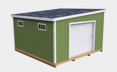 30 Free Storage Shed Plans With Gable, Lean-to and Hip Roof