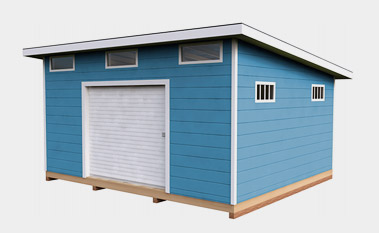 14x16 lean to storage shed plan - Garden Sheds With Lean To
