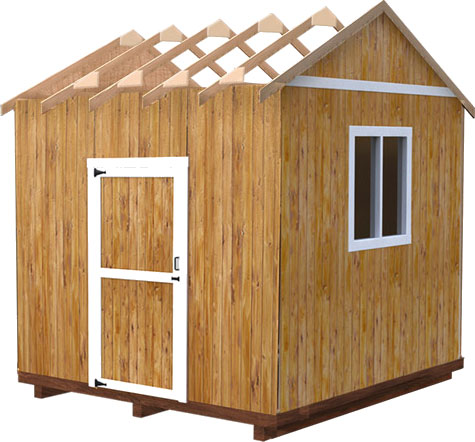 Delightful Now That The Walls, Doors And Windows Are In Place, Time To Add The Cherry  To The Cake. Yepu2026your Shed Is Almost Ready. The Only Thing Left Is The  Roof, ...
