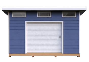 12x14 Lean-To DIY shed