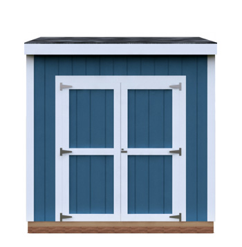 4x8 Lean-To DIY shed