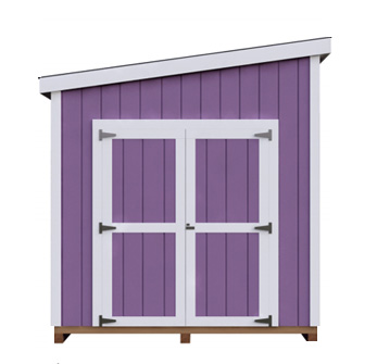 8x16 Lean-To DIY shed